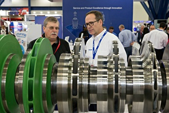Compressor rotor at Turbo and Pump Symposia
