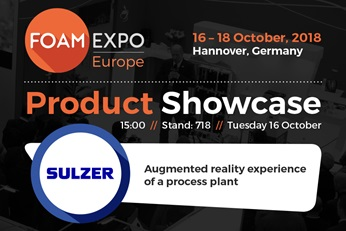 foam expo 2018 product showcase banner