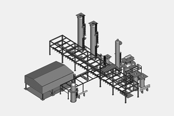 methanol plant small scale