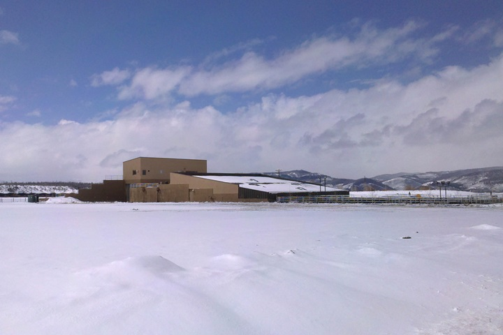 The Upper Fraser Valley Wastewater Treatment Plant, Colorado