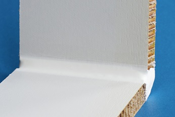 Composite sandwich panel bonded with DELO-DUOPOX