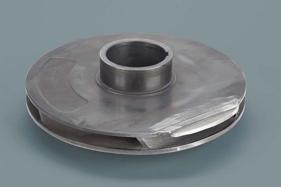 rapid repair of impeller