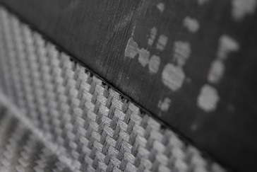 Carbon fiber composite material in detail