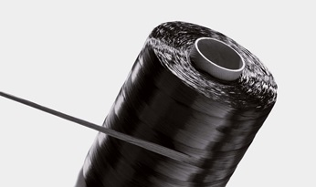 Bobbin with carbon fibers. Source: SGL Carbon Gmbh, Germany.