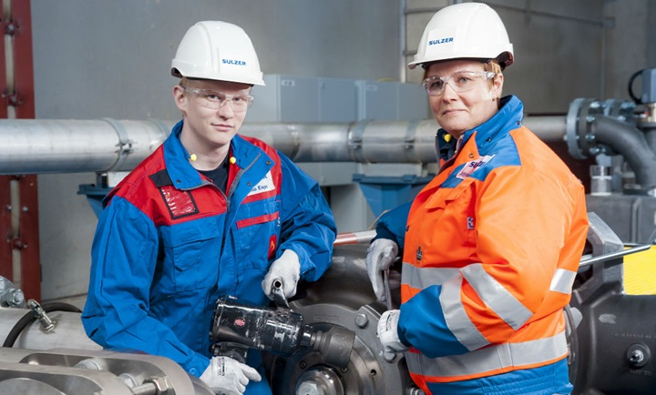 Sulzer supporting the process industry