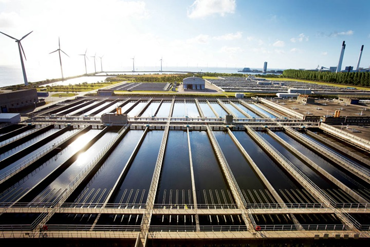 Municipal wastewater treatment plant in Denmark