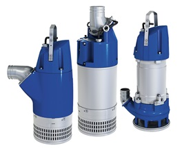Submersible dewatering pumps from Sulzer