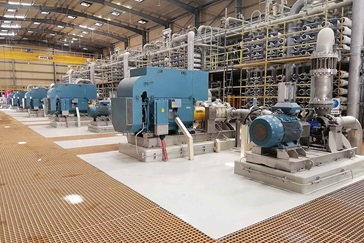 AHLSTAR™ and MBN pumps in Saudi Arabian plant