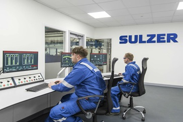 Sulzer's Falkirk Service Center has invested in new facilities for customers