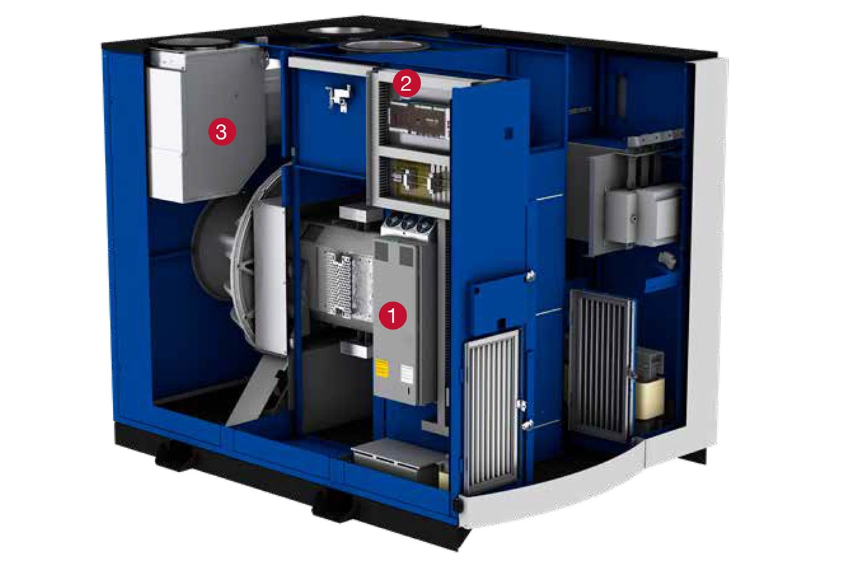 HST™ 30 turbocompressor - features and benefits
