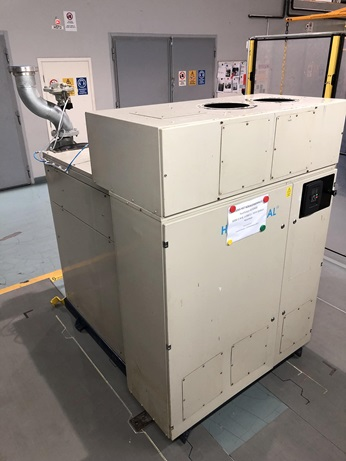 This customer machine originally manufactured in 1999 was refurbished and upgraded with new VFD after 20 years of operation.
