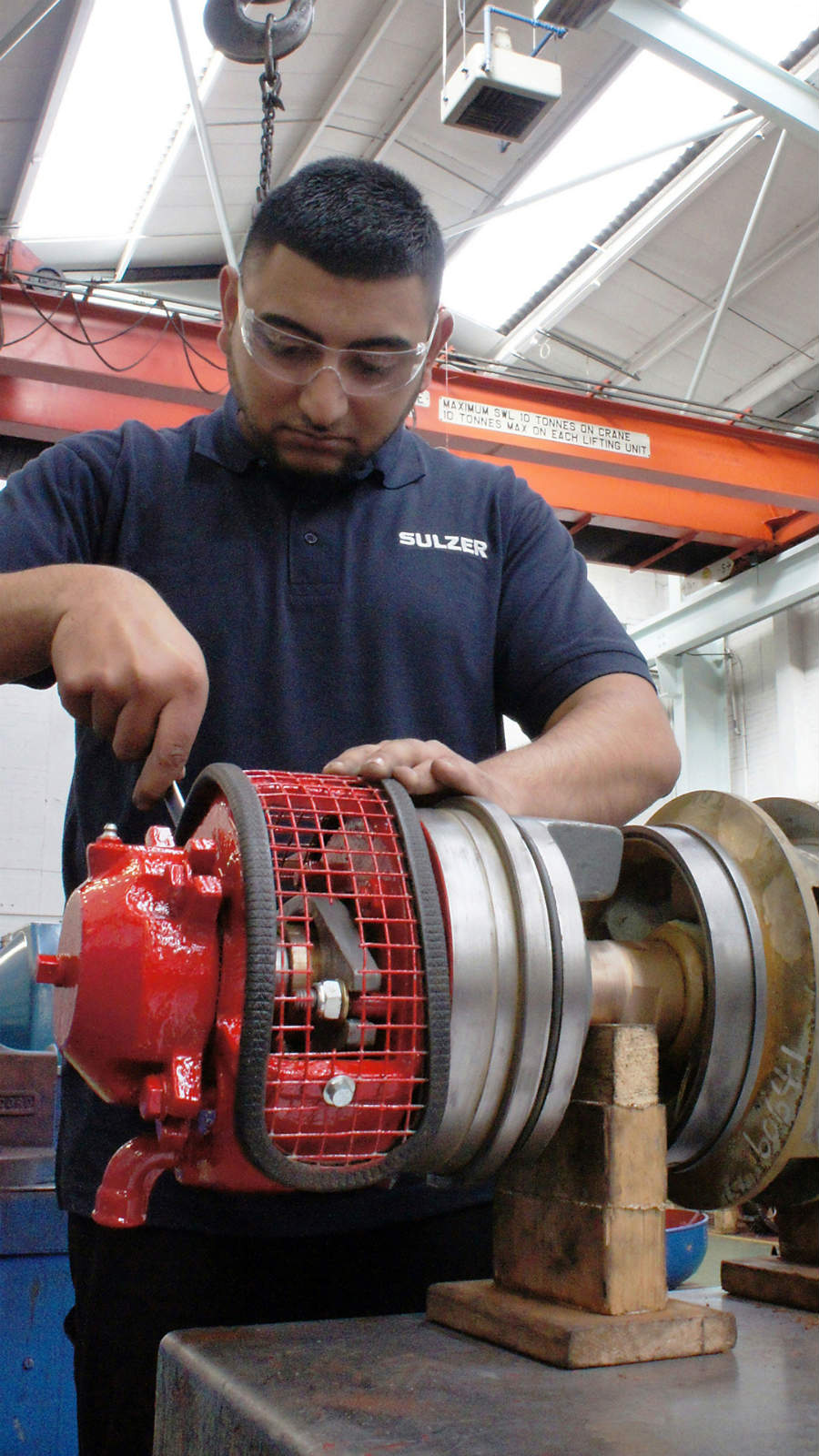 Expertise in pump repairs will minimize downtime