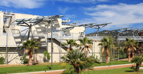 Wastewater treament plant Aquaviva Cannes France