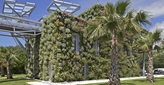 Wastewater treament plant Aquaviva Cannes France innovative building integrated in landscape