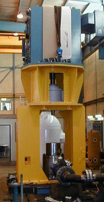 Dunbar multiphase pump package during Factory Acceptance Test (FAT)