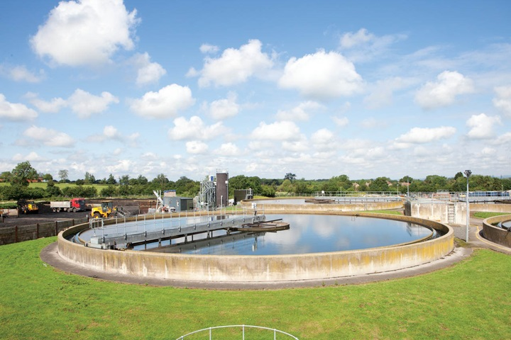Wastewater treatment plant (archive picture)