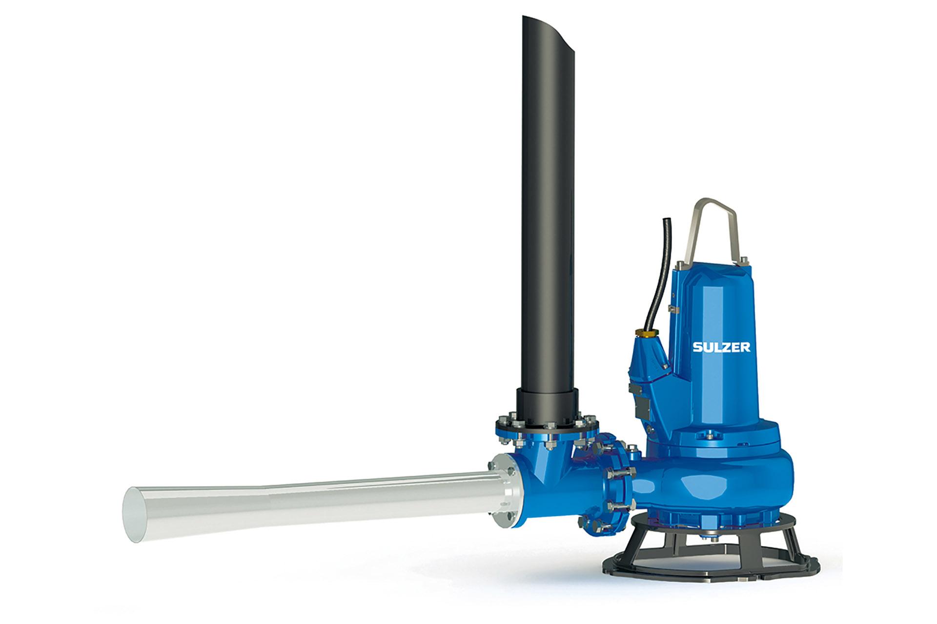Aerator type abs venturi jet sulzer for Jet septic aerator motor