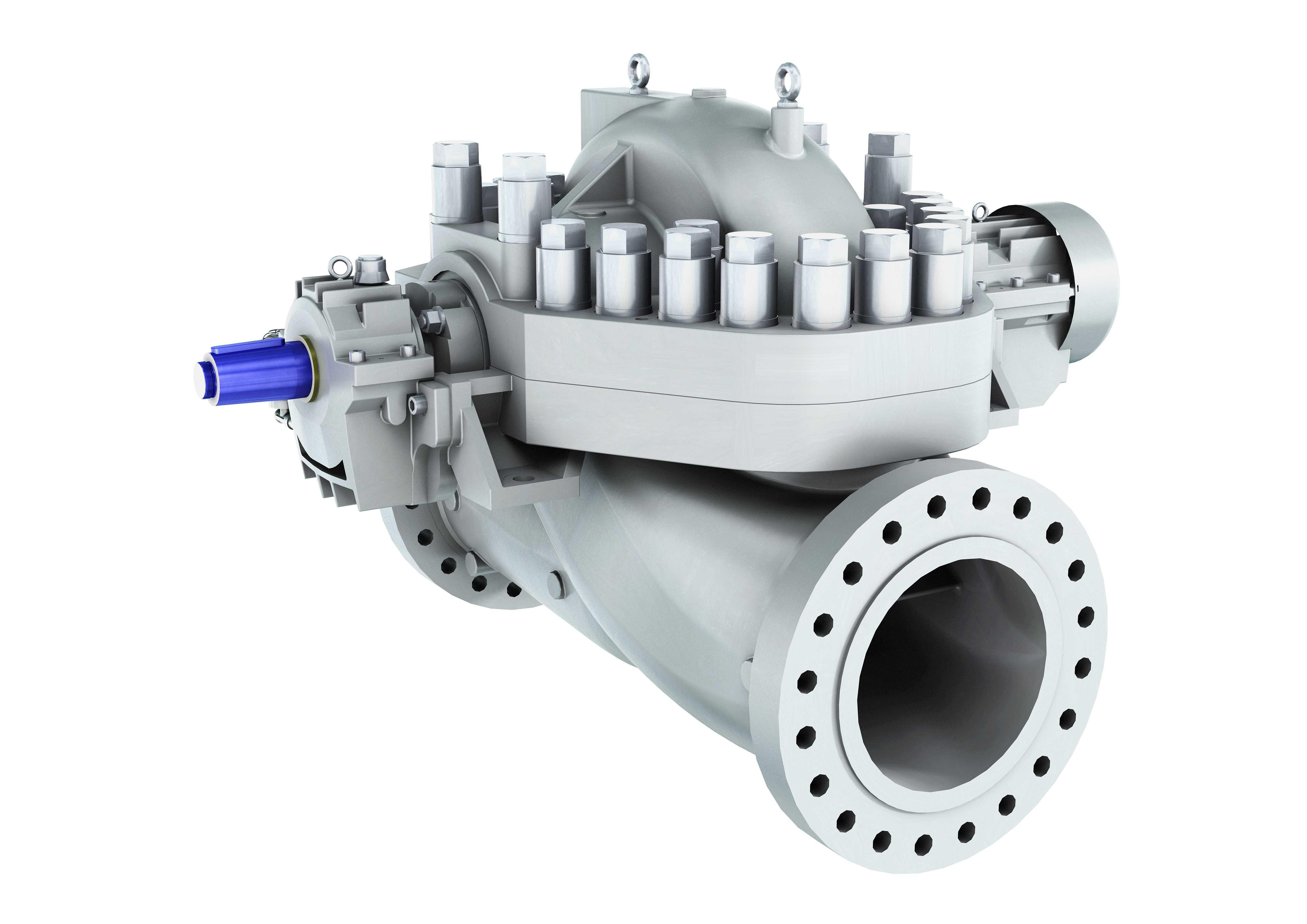 hsb axially split single stage between bearing pump sulzer rh sulzer com Pumps Sulzer Water Binghamheavy Bingham Pump Company