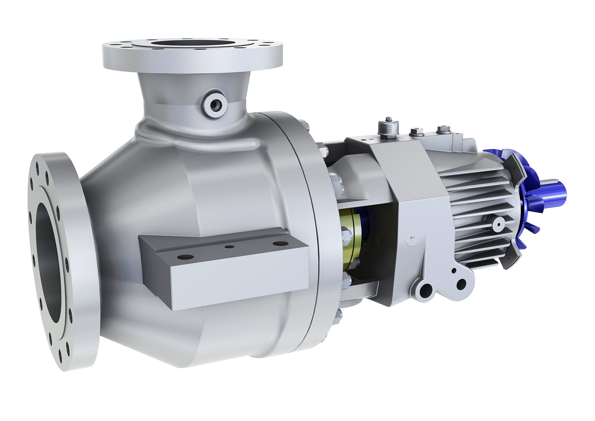 MPP-OHH Single Stage Multiphase Pump