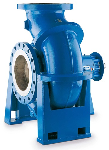 BK/NK centerline supported end suction single stage centrifugal pumps