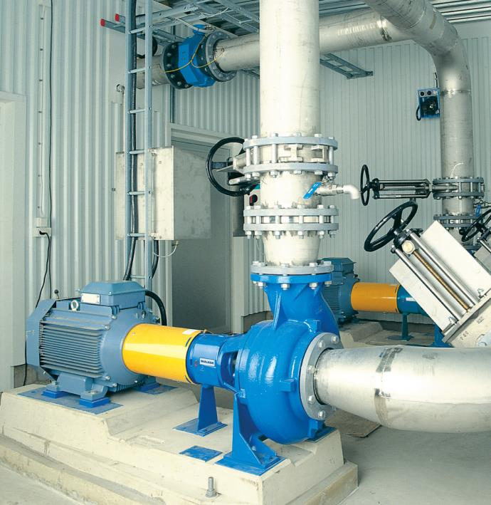FB non-clogging end suction single stage centrifugal pumps are well-suited for applications with large solids