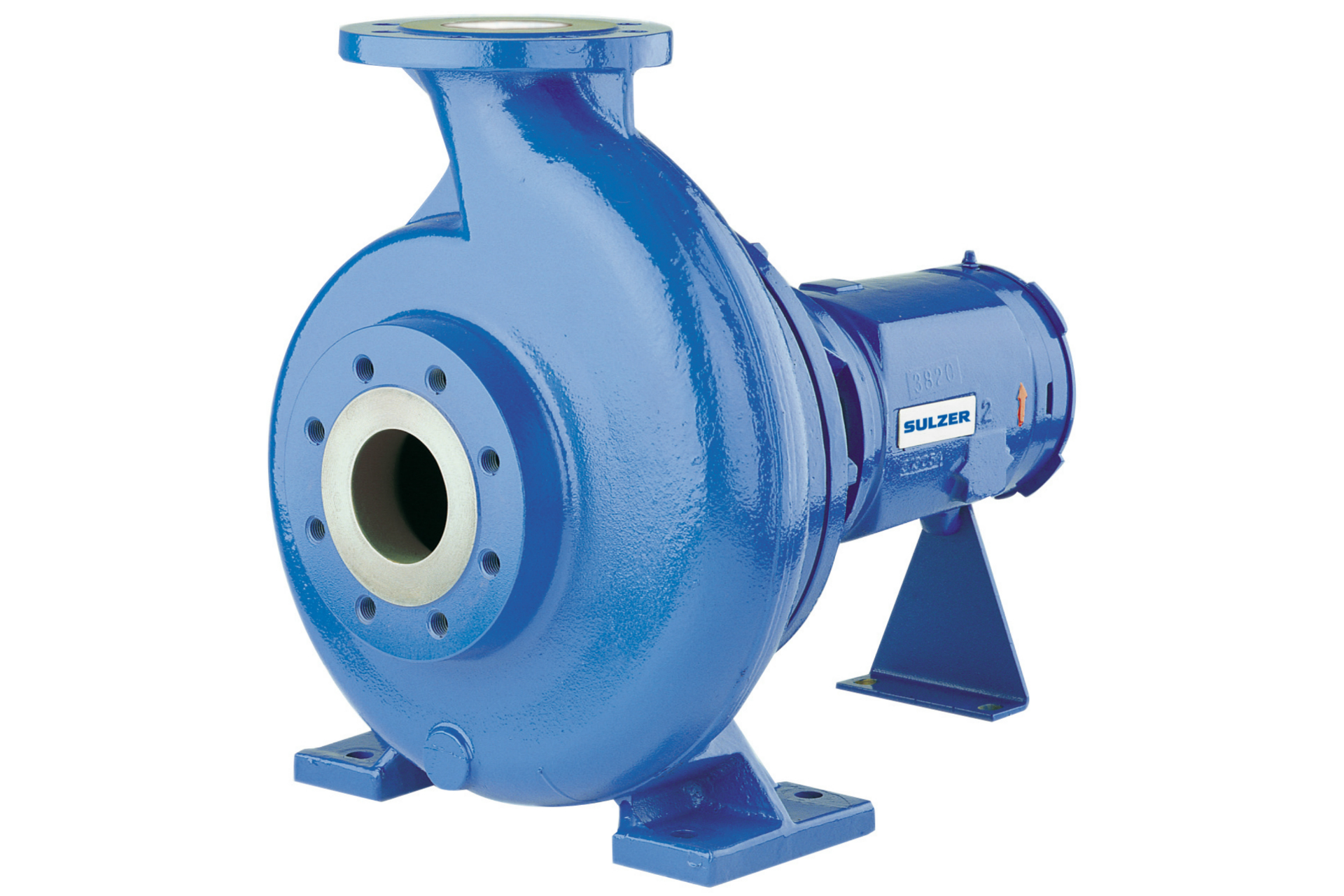 FB non-clogging end suction single stage centrifugal pump