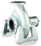NK centerline supported end suction single stage centrifugal pump with closed impeller