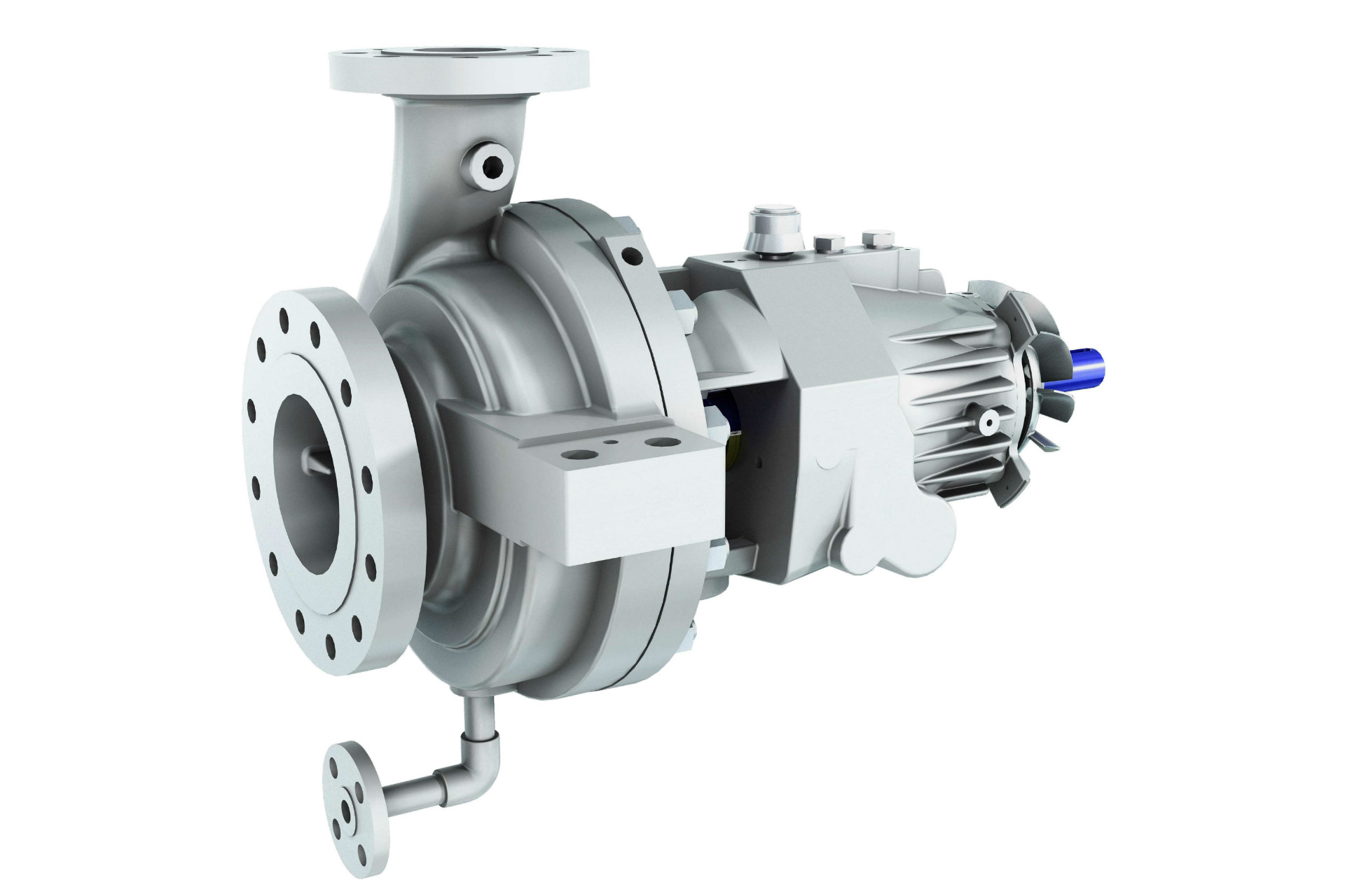 ISO 13709 (API 610) OH2 - OHH Single Stage Overhung Pump