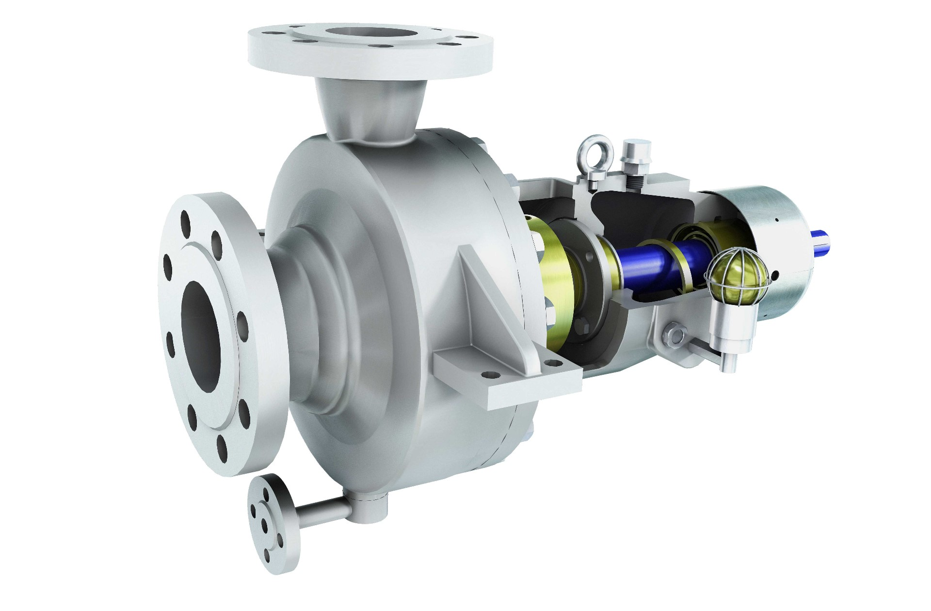 ZE/ZF end suction pump range