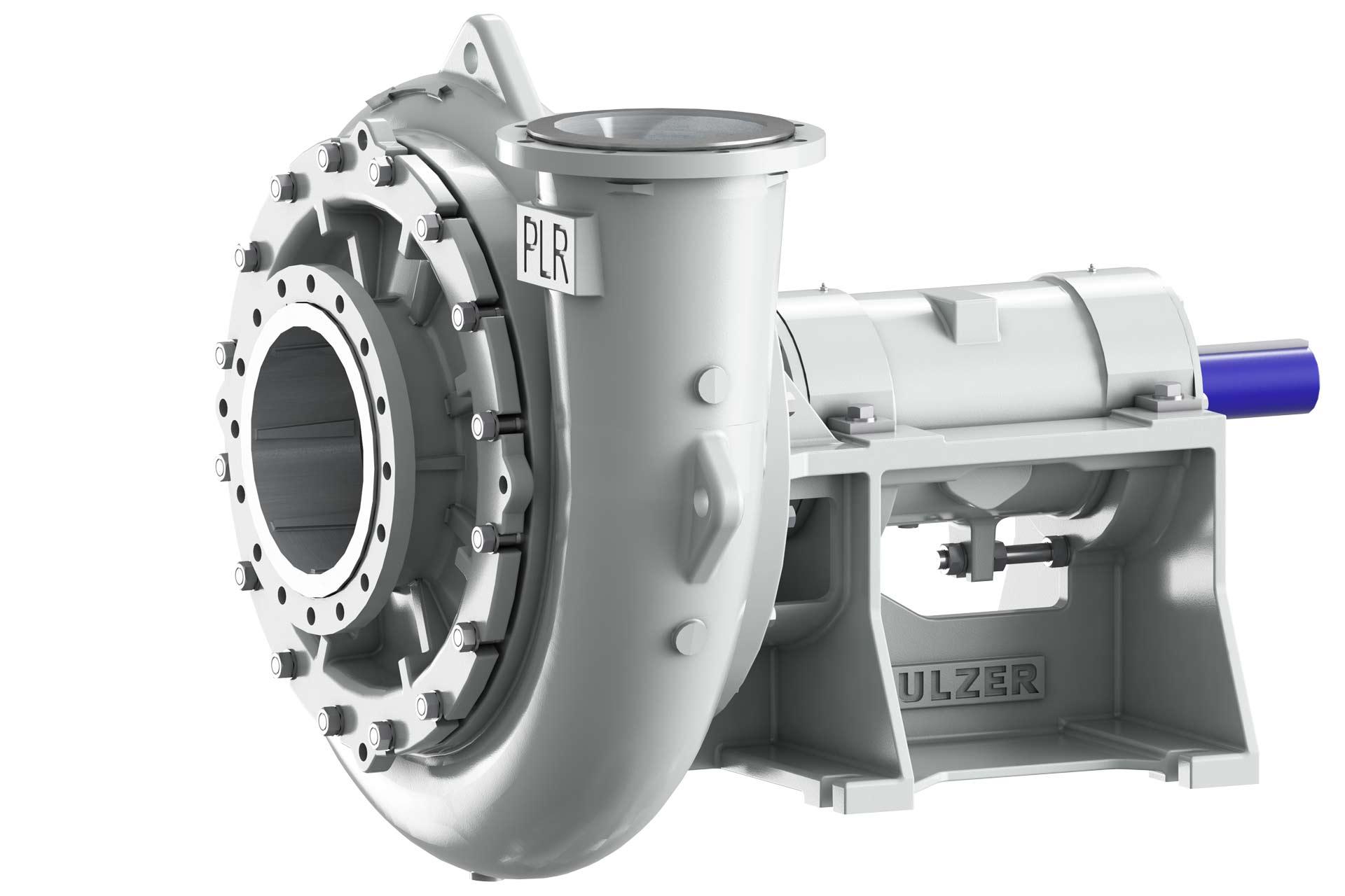 Slurry pump type Ensival Moret PLR and CR