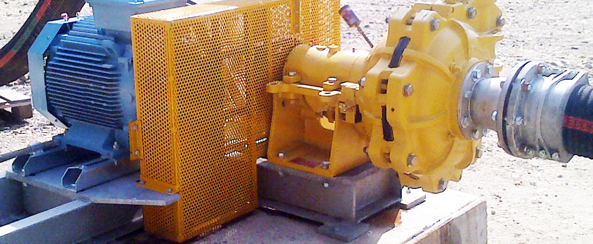EMW heavy duty slurry pump with high abrasion and corrosion resistance