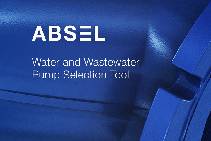 ABSEL water and wastewater pump selection tool