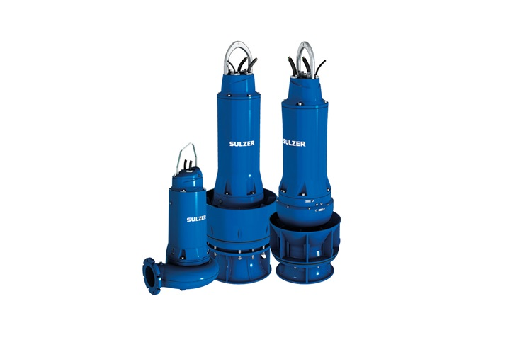 Group of submerible heavy duty pumps