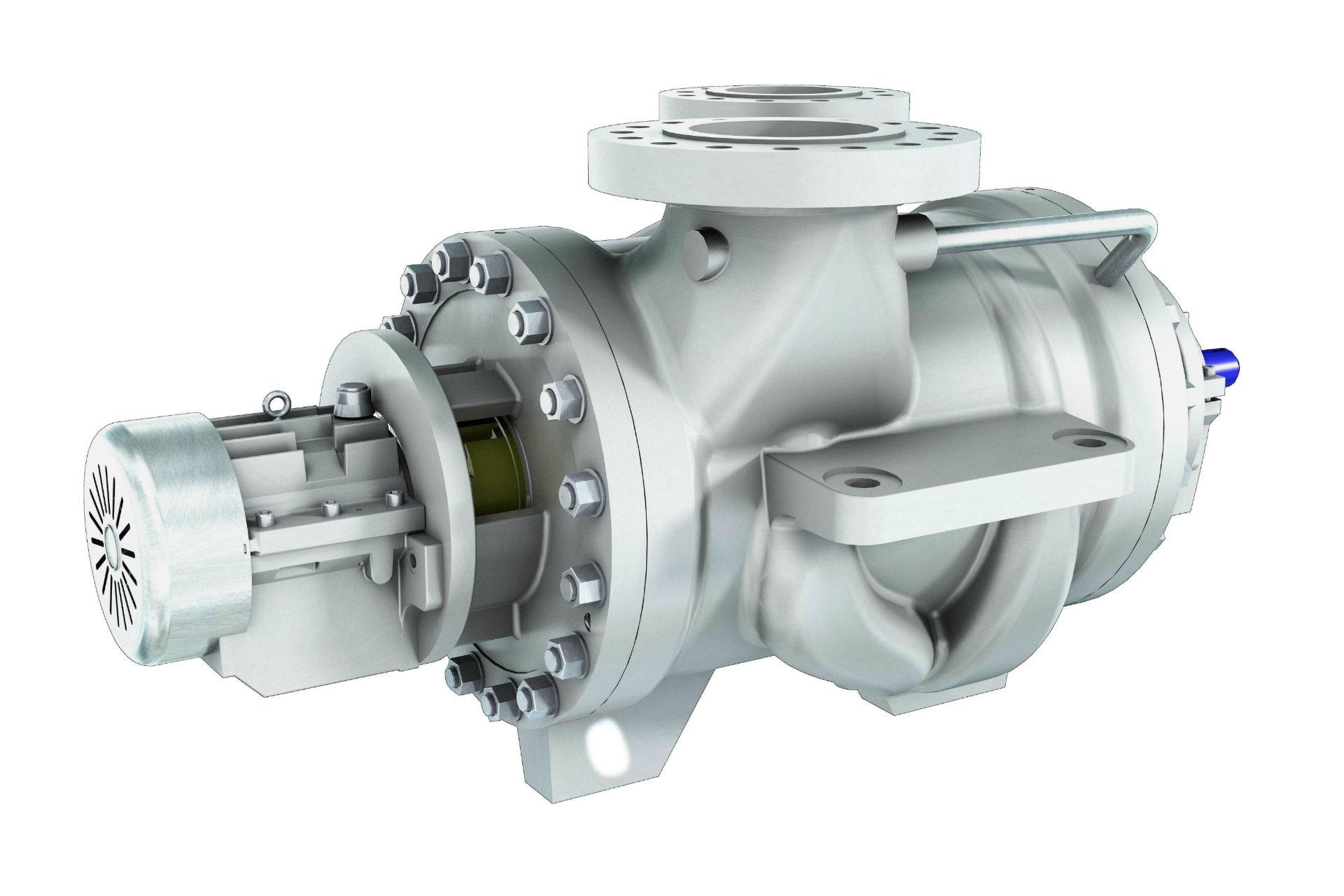 ISO 13709 (API 610) BB2 - BBT/BBT-D Two Stage Radially Split Between Bearings Pump