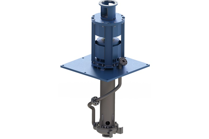 Cantilever sump pump type Ensival Moret VAP – no sealing system required