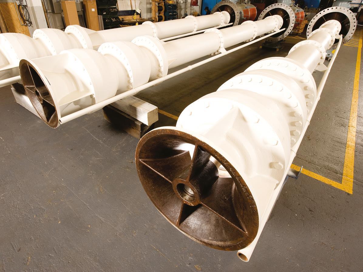 Vertical wet pit pumps   Sulzer