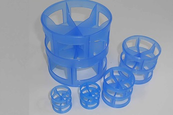 Plastic P-Ring™ for random packing