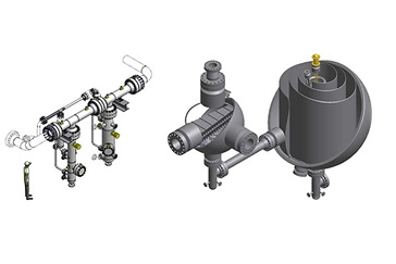 Graphic showing several details of HiPer™ Separators
