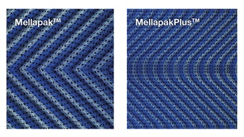 Element interphase of Mellapak and MellapakPlus
