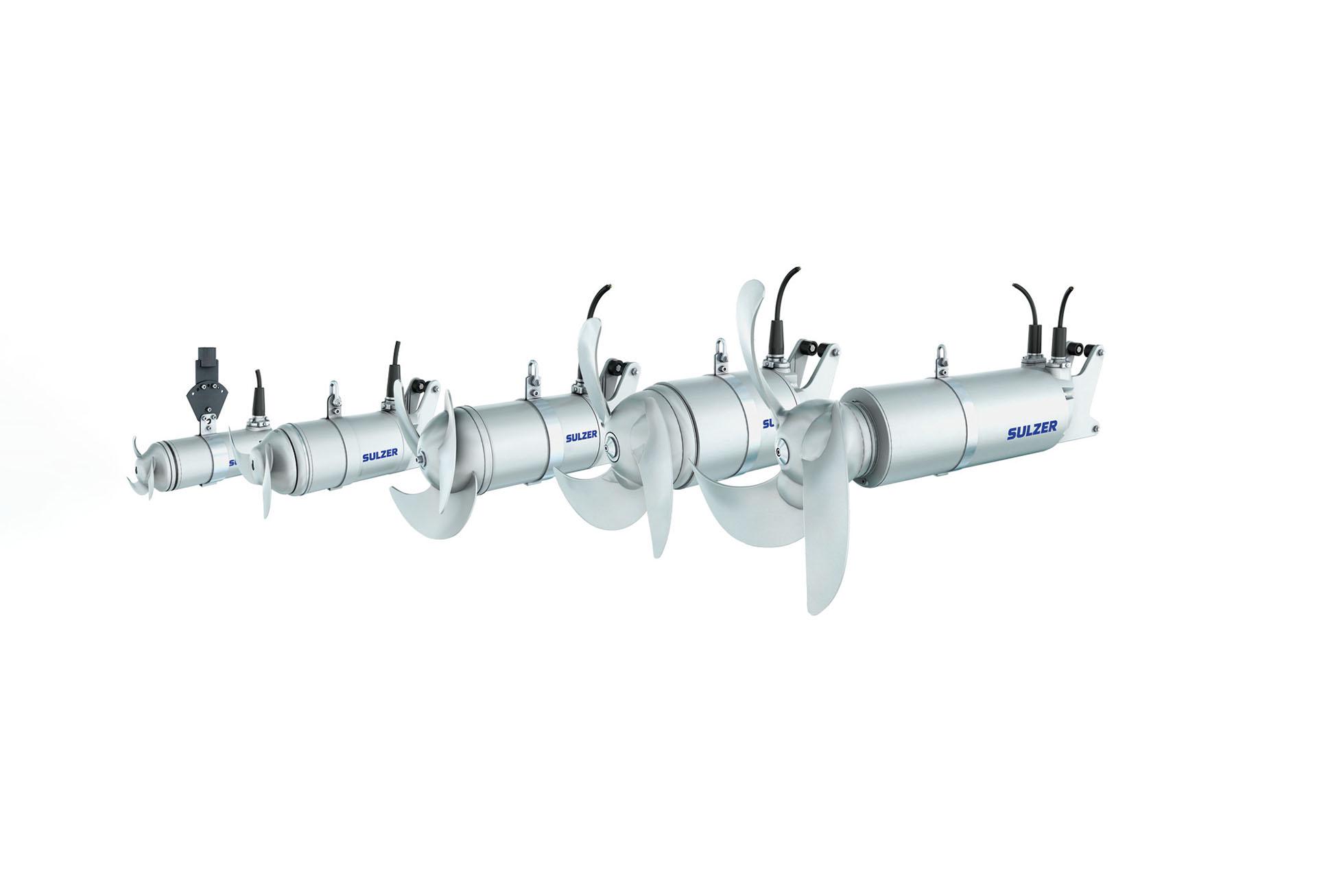 Submersible mixer type ABS XRW   Sulzer