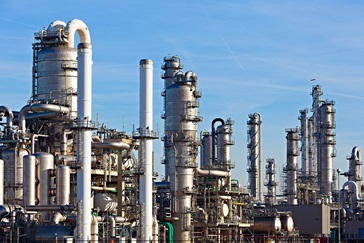 Refinery oil and gas chemicals