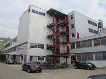 Sulzer test center in Allschwil, Switzerland