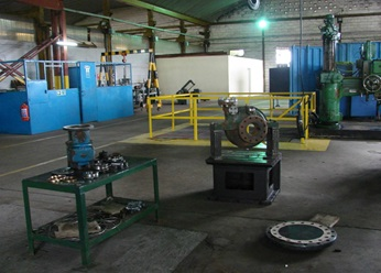 Inside the Port Harcourt service center