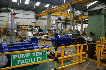 The Johannesburg pump test facility