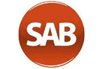Logo of SAB company, now belonging to Sulzer