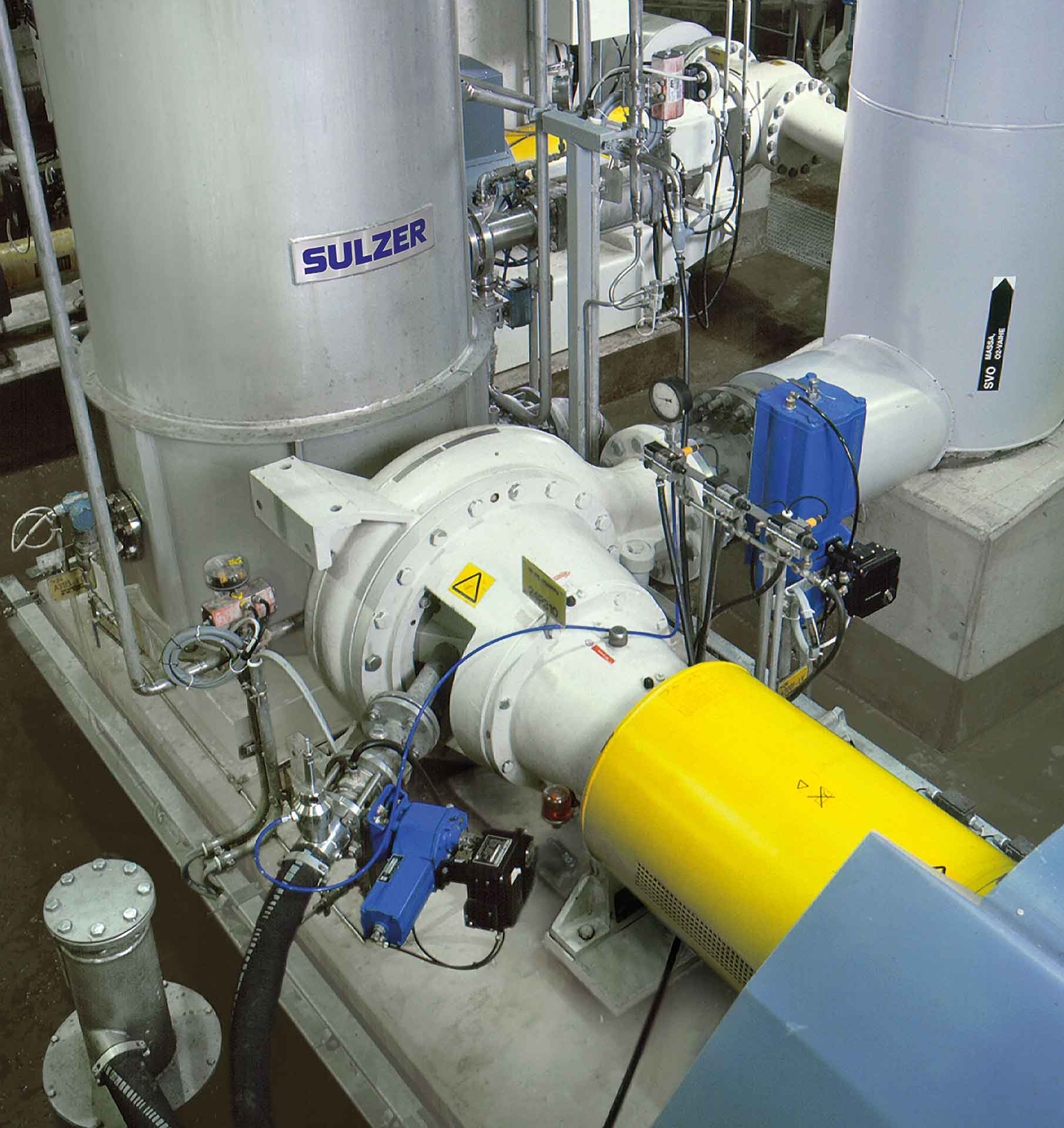Reliable Sulzer MC technology for high production rate fiber lines
