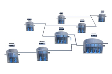 Sulzer provides web-based control- and monitoring solutions for wastewater pumping stations