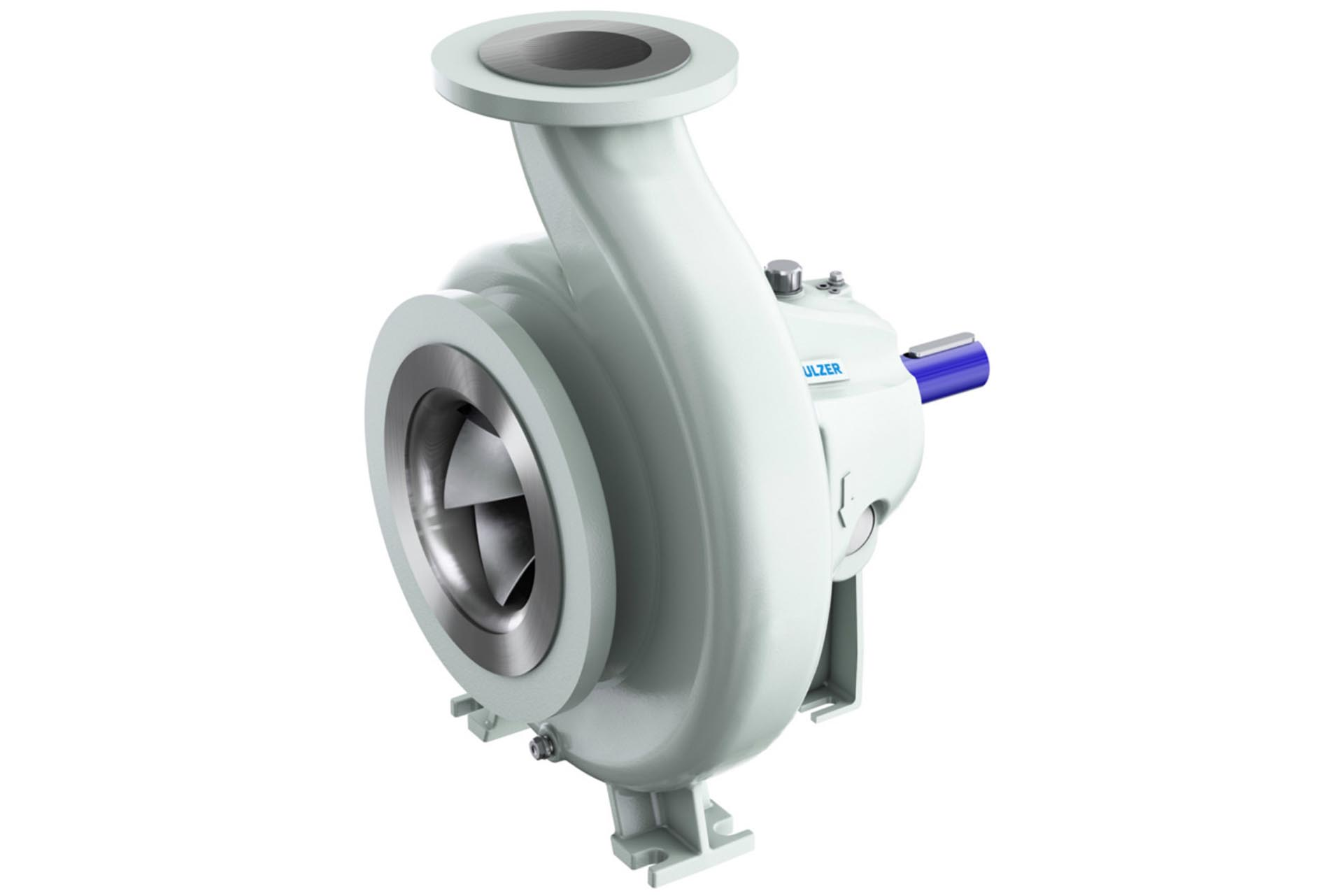 SNS end suction single stage pump range