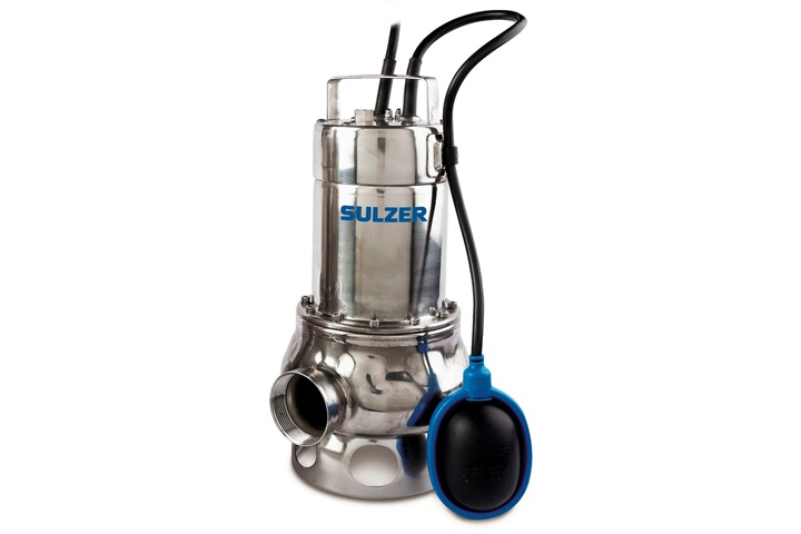 The light drainage pump type ABS IP 900 is a stainless steel pump suitable for aggressive media