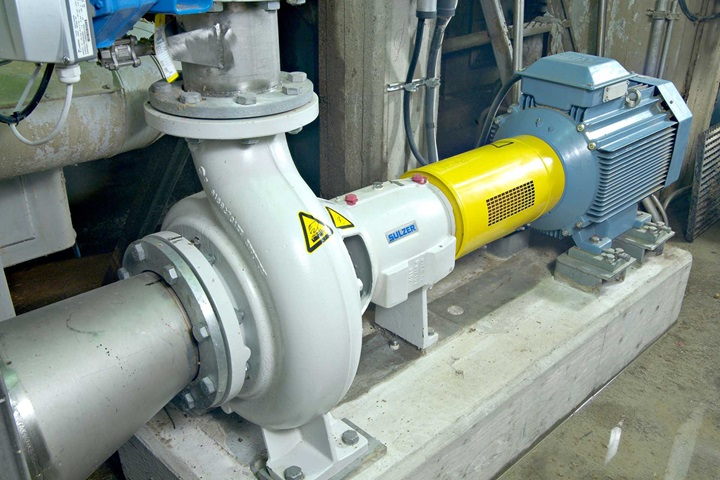 AHLSTAR end suction single stage process pump
